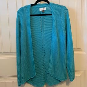 Teal Cardigan from Sonoma